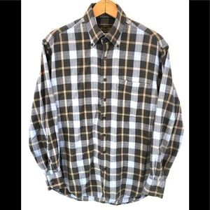 Orvis Country Plaid Button Down Shirt